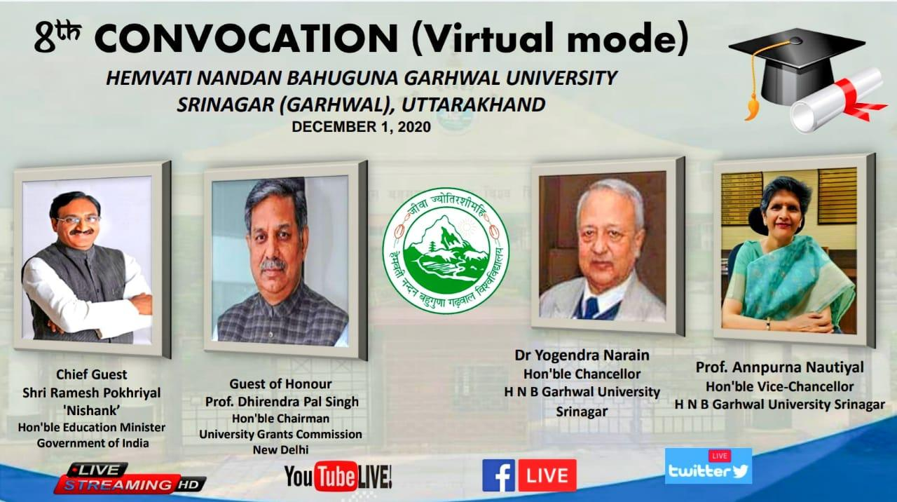 8th Convocation(Virtual Mode)